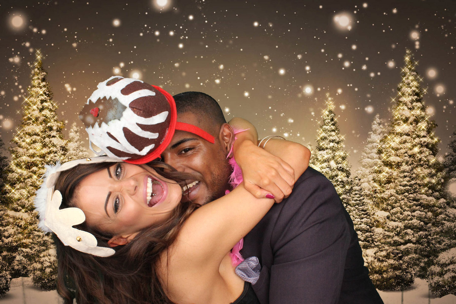 Christmas photo booth hire Kettering