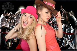 Cow boy hats and paparazzi